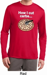 How I Cut Carbs Mens Dry Wicking Long Sleeve Shirt