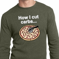 How I Cut Carbs Mens Long Sleeve Thermal Shirt