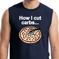 How I Cut Carbs Mens Muscle Shirt