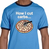 How I Cut Carbs Mens Ringer Shirt