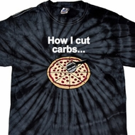 How I Cut Carbs Spider Tie Dye Shirt