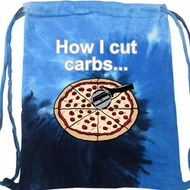 How I Cut Carbs Tie Dye Bag