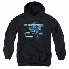 Hummer Kids Hoodie Stormy Ride Black Youth Hoody