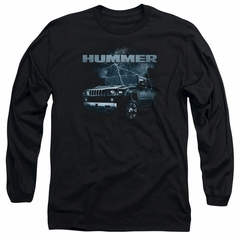 Hummer Long Sleeve Shirt Stormy Ride Black Tee T-Shirt