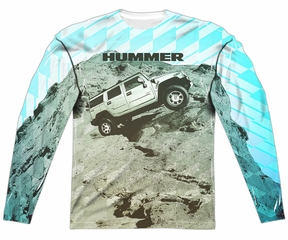 Hummer Long Sleeve Trek Sublimation Shirt Front/Back Print