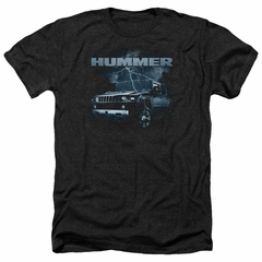 Hummer Shirt Stormy Ride Heather Black T-Shirt