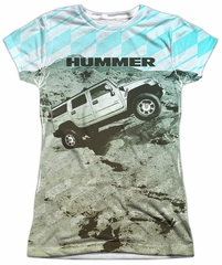 Hummer Shirt Trek Sublimation Juniors Shirt
