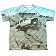 Hummer Shirt Trek Sublimation Youth Shirt Front/Back Print