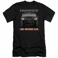 Hummer Slim Fit Shirt Like Nothing Else Black T-Shirt
