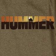 Hummer Sunset Logo Shirts