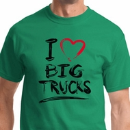 I Love Big Trucks Shirts