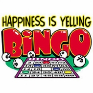 Bingo Shirt - Happiness is Yelling Bingo!