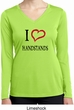 I Love Handstands Ladies Moisture Wicking Long Sleeve Shirt