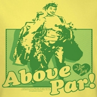 I Love Lucy Above Par Shirts