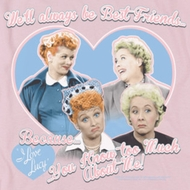 I Love Lucy Always Best Friends Shirts