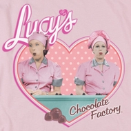 I Love Lucy Chocolate Factory Shirts