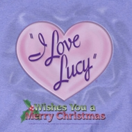 I Love Lucy Christmas Logo Shirts