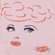 I Love Lucy Eyelashes Shirts