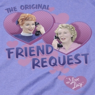 I Love Lucy Friend Request Shirts