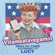 I Love Lucy Health Care Shirts