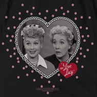 I Love Lucy Hearts And Dots Shirts