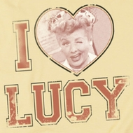 I Love Lucy I Heart Lucy Shirts