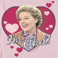 I Love Lucy I'm Ethel Shirts