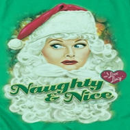 I Love Lucy Lucy Santa Shirts