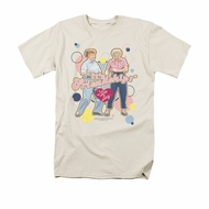 I Love Lucy Shirt Its Friendship Adult Cream Tee T-Shirt