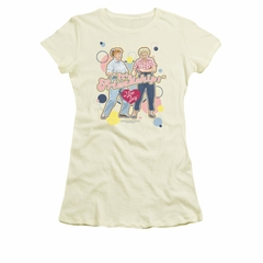 I Love Lucy Shirt Its Friendship Juniors Cream Tee T-Shirt