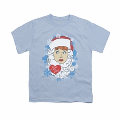 I Love Lucy Shirt Kids Beard Flakes Light Blue Youth Tee T-Shirt