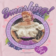 I Love Lucy Smashing Shirts