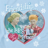 I Love Lucy The Best Present Shirts