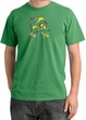 I'm With Stupid Pigment Dyed T-Shirt - Funny Two Ways Piper Green Tee