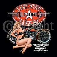 Indian Motorcycle T-shirt - Full Service Gas Tee