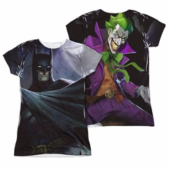 Infinite Crisis Shirt Batman VS Joker Sublimation Juniors Shirt
