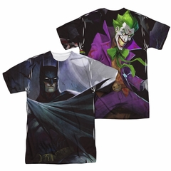 Infinite Crisis Shirt Batman VS Joker Sublimation Shirt Front/Back Print