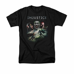 Injustice Gods Among Us Shirt Superman VS Batman Black T-Shirt
