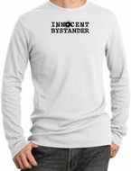 INNOCENT BYSTANDER BLACK Funny Adult Long Sleeve Thermal T-Shirts
