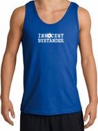 INNOCENT BYSTANDER WHITE Funny Adult Tanktop - Royal