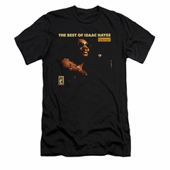 Isaac Hayes Shirt Slim Fit Best Of Black T-Shirt