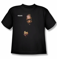 Issac Hayes Kids Shirt Concord Music Chocolate Chip Black Youth Tee