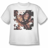 Issac Hayes Kids Shirt Concord Music To Be Continued White Youth Tee