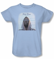 Issac Hayes Ladies Shirt Concord Music Black Moses Blue T-Shirt