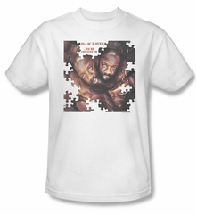 Issac Hayes Shirt Concord Music To Be Continued White Tee T-Shirt