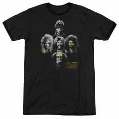 It's Always Sunny In Philadelphia Rocker Heads Black Ringer Shirt