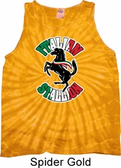 Italian Stallion Tie Dye Tank Top