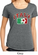 Italy Ladies Lace Back Shirt
