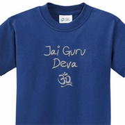 Jai Guru Deva Kids Yoga Shirts