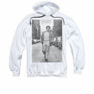 James Dean Hoodie Walk The Walk White Sweatshirt Hoody